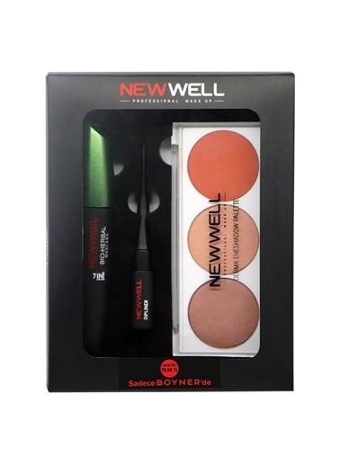 New Well New Well 3'lü Makyaj Seti Renksiz